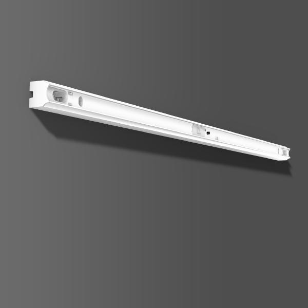 RZB - staafarmatuur 1xL-DE 120W IP40 wit L:1000
