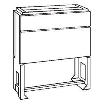 VYNCKIER - Polyestersokkel voor EH3 en EH6 grootte 0