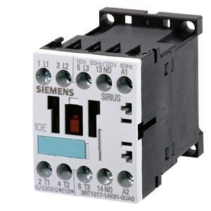 SIEMENS - Contactor AC-3 5,5kW/400V, 1M, 230V AC, 50/60 Hz, 3P, S00, schroefklemmen