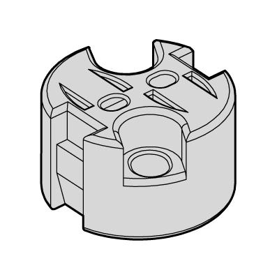 HUPPERTZ - Socket halogène 324 300mm universel G4, GZ4, G5.3, GX5.3, G6.35, GY6.35