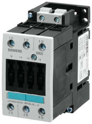 SIEMENS - Contacteur AC-3 22kW/400V, 230V AC, 50 Hz, 3P, S2, bornes à vis