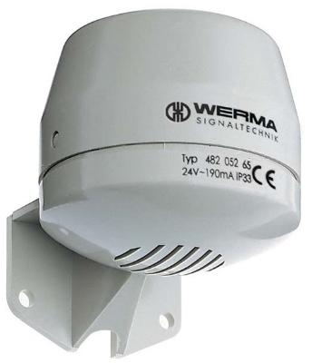 Werma - Hoorn 230 VAC - 92 dB, 70 x 80 mm - ook als liftalarm verkrijgbaar,  IP 33