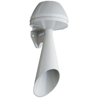 Werma - Signaalhoorn 24 VDC - 350 mA, 108 dB   IP 55, 148 x 356 mm