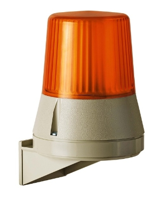 Werma - Feu flash 230 VAC orange, 108 X 133 mm  fix. Murale,  IP 54