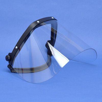 Catu - Gelaatsscherm voor bevestiging op helm - 100% anti-U.V. - volgens norm EN 166