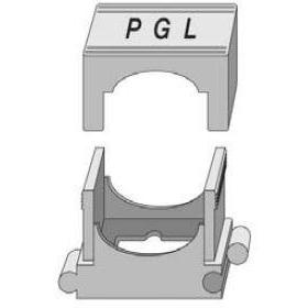 PGL - Drukklem nylon grijs 18 - 30
