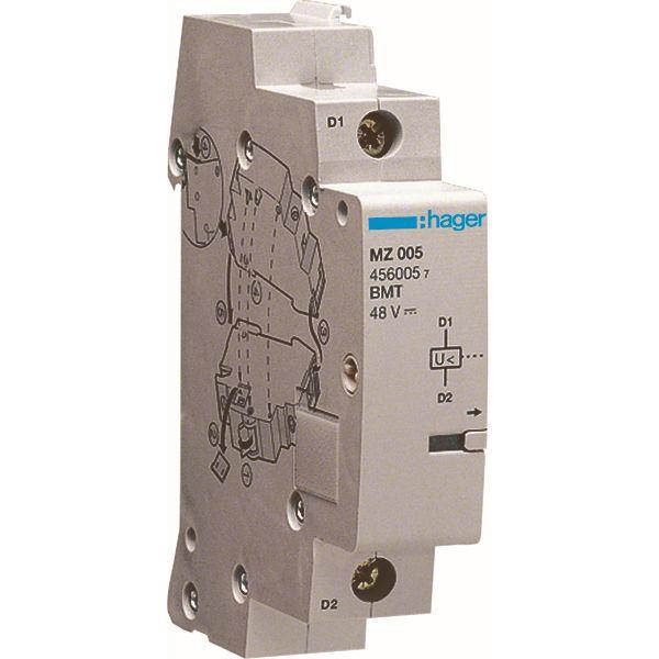 HAGER - Déclencheur à minimum de tension - 48V DC