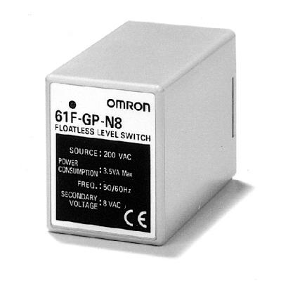 OMRON - Niveaureg., std., voedingseenheid+relaisuitgang, 230VAC, 0-4k ohm, 8-pins aansl