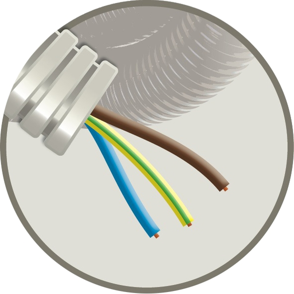CABLEBEL - Elflex tube précâblé 16mm + installation VOB 3G1,5mm²