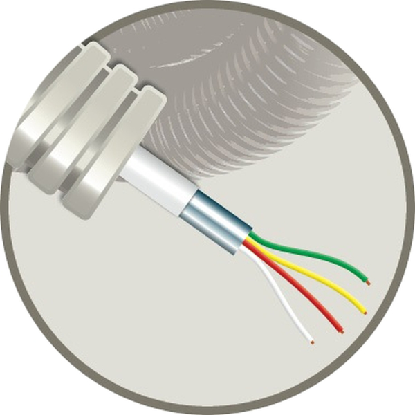 CABLEBEL - Elflex tube précâblé 16mm + câble d'alarme AL 4X0,22mm²
