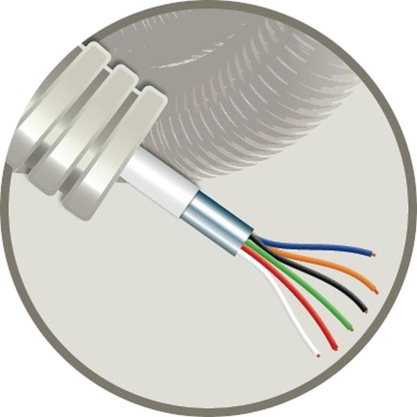 CABLEBEL - Elflex tube précâblé 16mm + câble d'alarme AL 6X0,22mm²