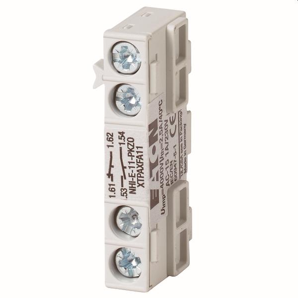 MOELLER - Hulpcontactblok PKZ NHI-E-11-PKZ0, Hulpcontact 1M 1V