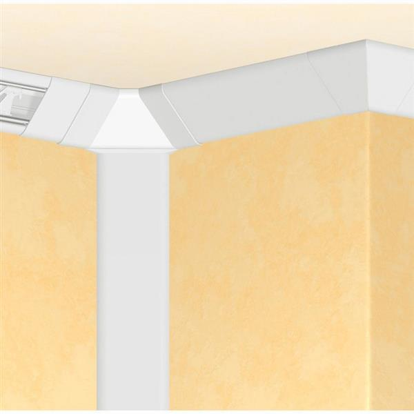 LEGRAND - Goulotte DLP 3D 55 x 55 mm longueur 2 mètres - blanc