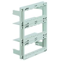 BTICINO - Châssis/support Multibox pour 3x6 modules Living/Light/Light Tech