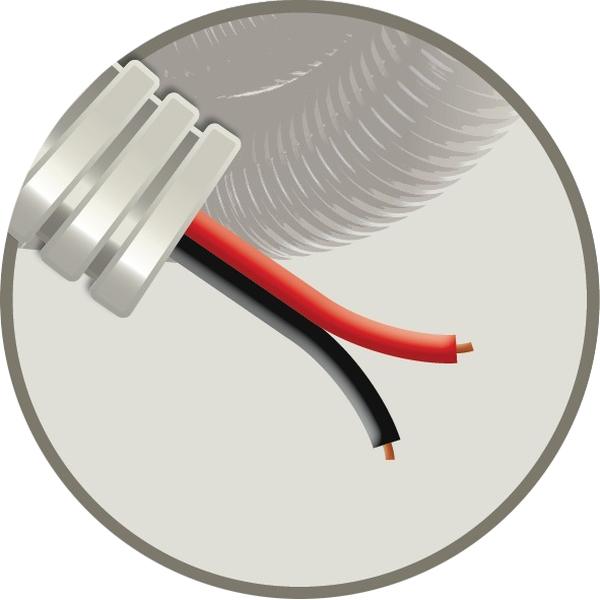 CABLEBEL - Elflex tube précâblé 16mm + câble haut-parleur LS 2x1,5mm²