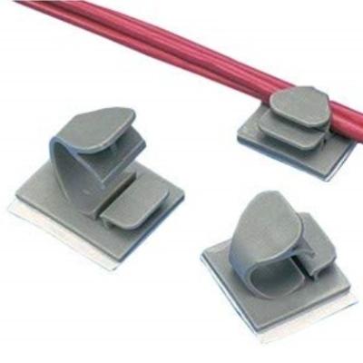 PANDUIT - Latching Wire Clip, Adh., .25'' (6.4mm) Bundle, GRY