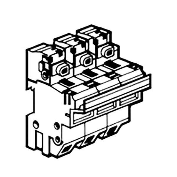 LEGRAND - Scheider SP58 3p voor industriële smeltpatronen 22 x 58 mm