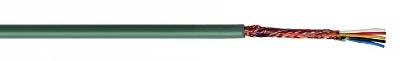 CABLES SPECIAUX - Microphone multi gaine PVC isolation PVC blindage global tresse CU 2x0,22mm²