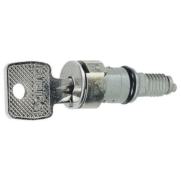 LEGRAND - Cylindre pour clé no 2433A fermeture univ. coffrets/arm.