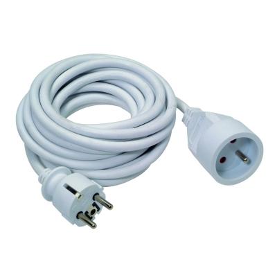 BLOCS MULTIPRISE + CORDONS - Rallonge 3G1,5 blanc 10m