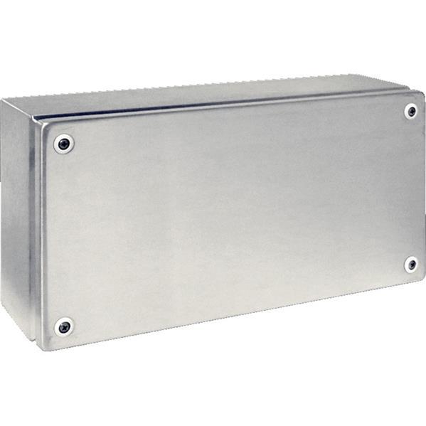 RITTAL - Klemmenkast, 400x200x120mm BxHxD, rvs 1.4301 (AISI 304), zonder wartelplaten, zo