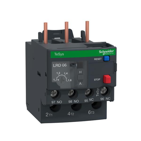 TELEMECANIQUE - TeSys LRD relais de protection thermique moteur - 1-1,7 A - classe 10A