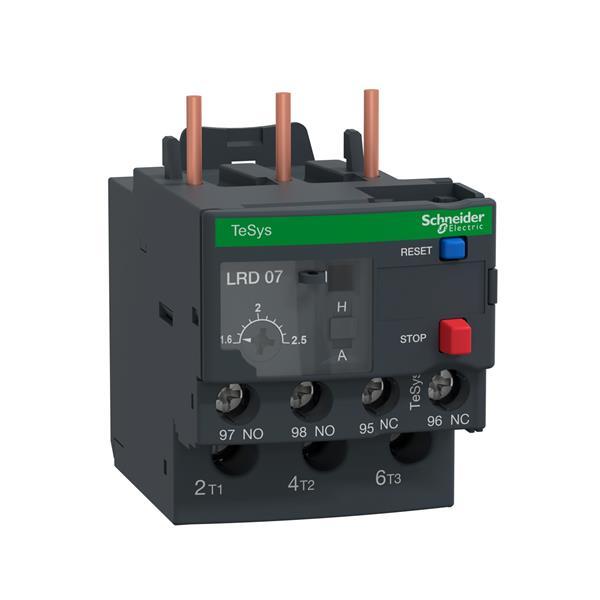 TELEMECANIQUE - TeSys LRD relais de protection thermique moteur - 1,6-2,5 A - classe 10A