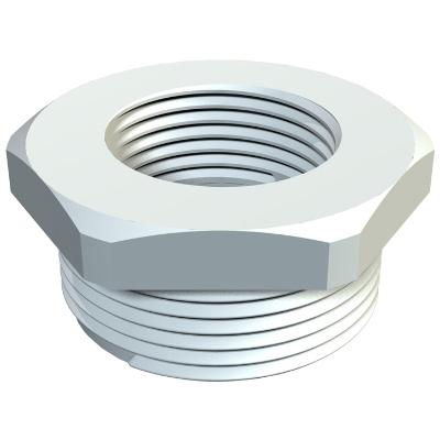 OBO BETTERMANN - Réduction 107/R M40/M32 gris clair - polyamide