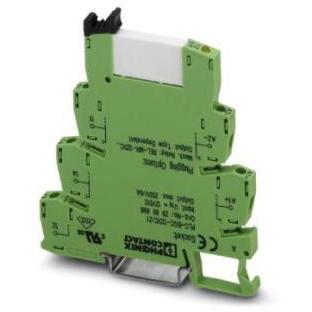 Phoenix Contact - Interface PLC, comprend l'embase PLC-BSC.../21 avec connexion vissée et un relai