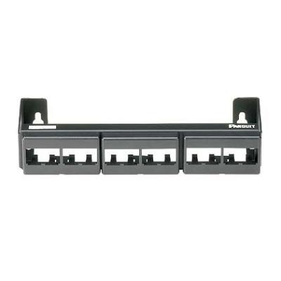 PANDUIT - Panneau de brassage modulaire 12 ports, avec 3 CFFP à clipsage frontal ( sans m