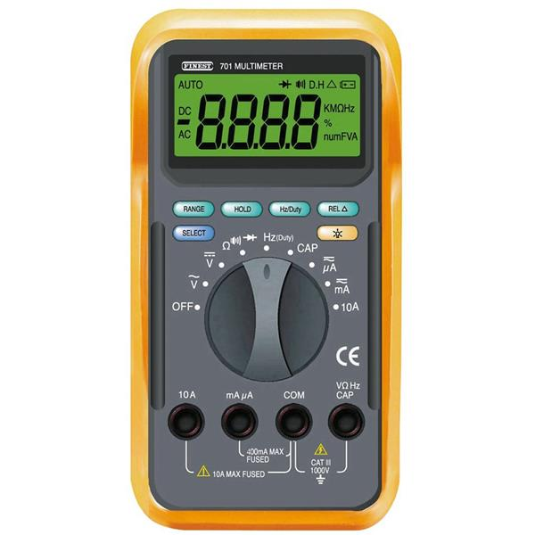 CCI - Multimètre VCA/VCC/ACA/ACC/R/C/F