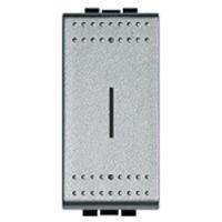 BTICINO - Porte-fusible Light Tech pour fusibles 5x20 et 6,3x32 max. 250V 10A - 1 module