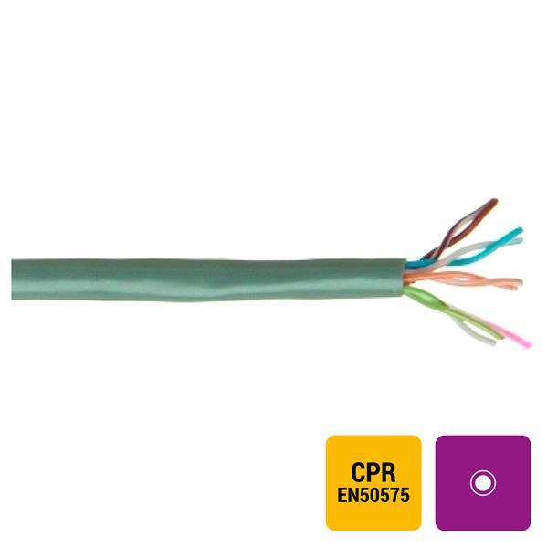 Data Kabels - Acolan datakabel U/UTP CAT5e 4p AWG24 PVC grijs RAL7000 bobijn 305m M4963 Eca