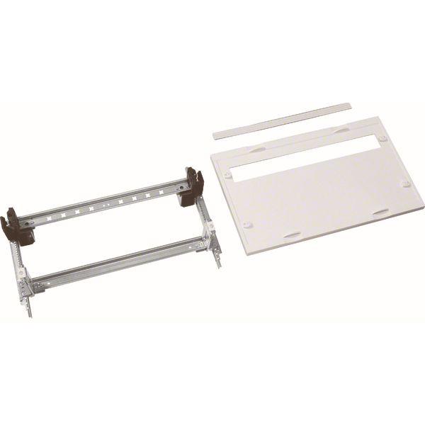 HAGER - Kit 2 tr. 1x24 M. + bornes - h.300mm