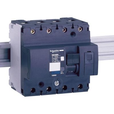 MERLIN GERIN - automaat Multi 9 -NG125N - 4P - 125 A - curve C