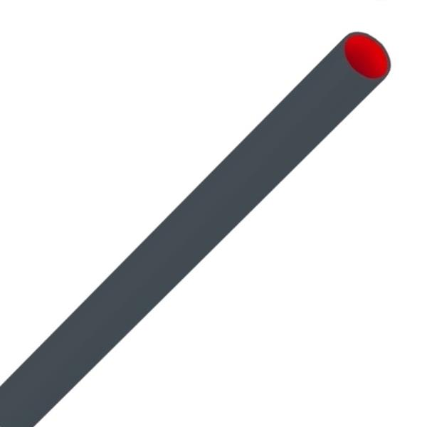 PIPELIFE - TUBE POLIVOLT 'LowFriction' PVC 16mm CEBEC renforcé RAL7016 anthracite