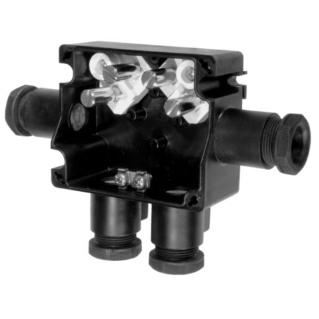 CEAG - eAZK961 - Vedeeldoos PA - 4 klemmen 4x4mm² - 4 PE M25 PA