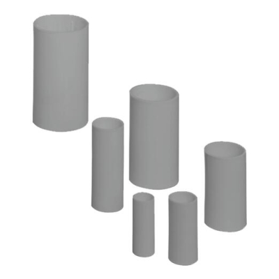 PIPELIFE - Manchon pvc 40mm gris foncé sans halogen