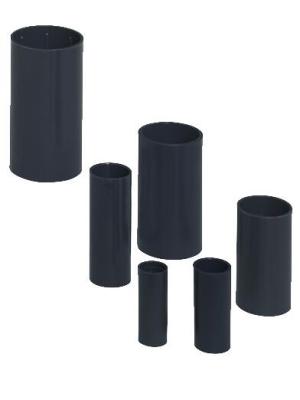 PIPELIFE - Manchon pvc renforcé 32mm anthracite sans halogen
