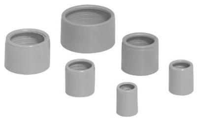 PIPELIFE - Entrée PVC 20mm gris foncé sans halogen