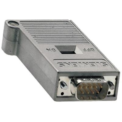 SIEMENS - SIMATIC NET, CONNECTEUR DE BUS PB AVEC SORTIE DE CABLE AXIALE POUR PC INDUS.,SIM