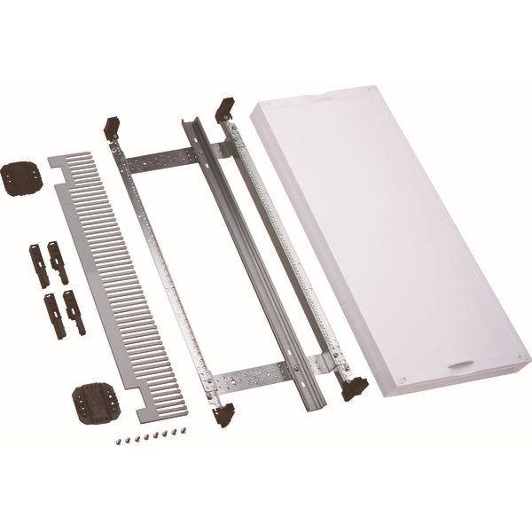 HAGER - Kit 1 tr. bornier vertical