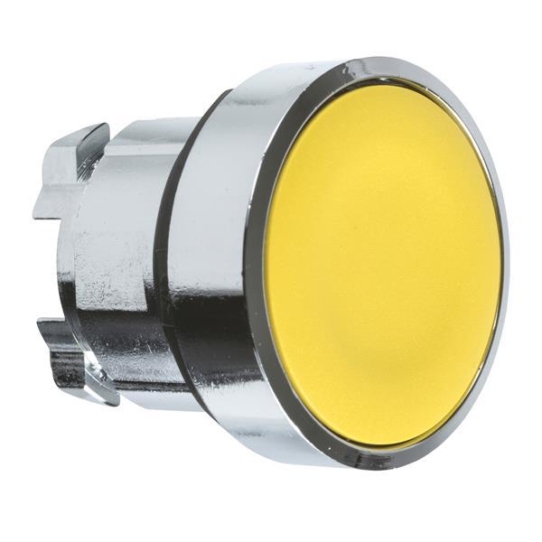 TELEMECANIQUE - Tête pour bouton-poussoir - Ø22 - jaune