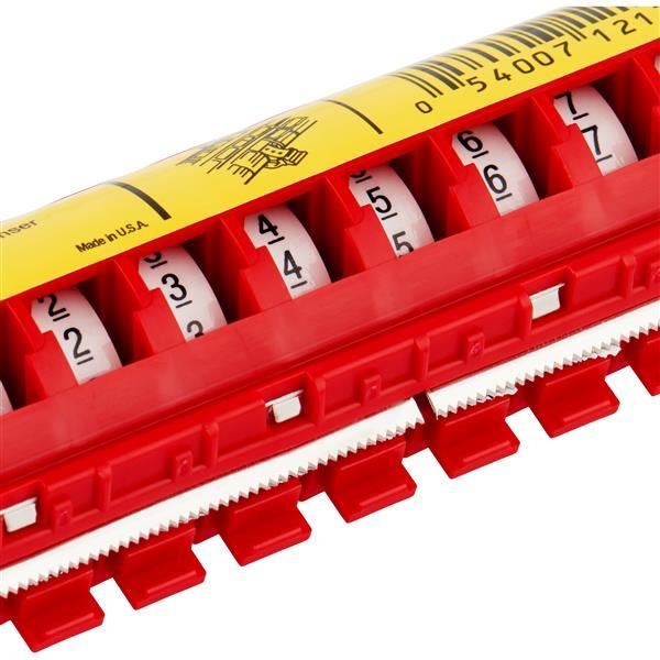 3M - Scotchcode draadmarkeringsdispenser gevuld met cijfers  0-9