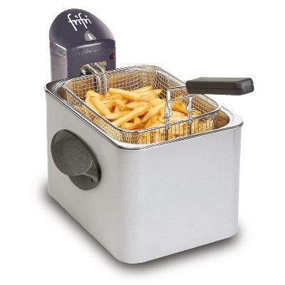 FRIFRI - Friteuse - 3200W - 3,5l - 1kg frites - manteau métal