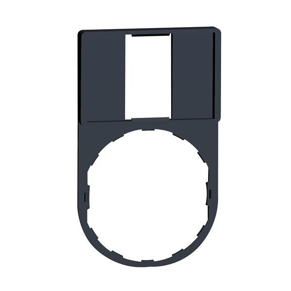 TELEMECANIQUE - etikethouder 30 x 50 mm standaard - Ø 22 - zonder etiket