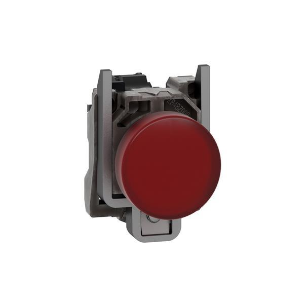 TELEMECANIQUE - Controlelamp rond Ø22 - IP65 - rood - ingebouwde LED - 240V - klemmen