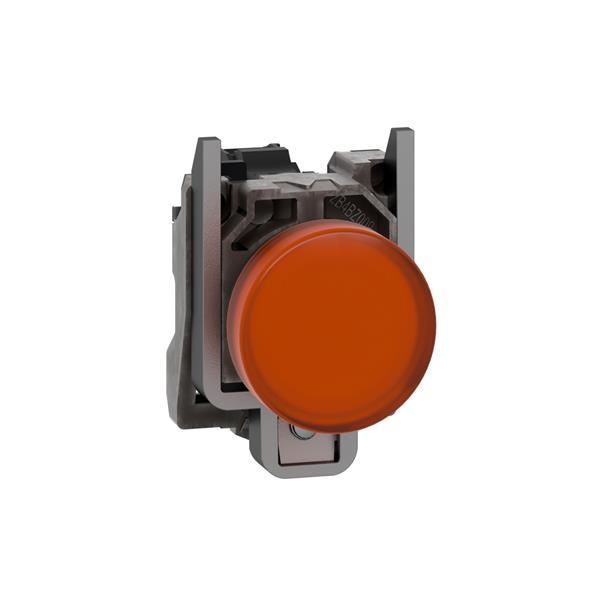 TELEMECANIQUE - Controlelamp rond Ø22 - IP65 - geel - ingebouwde LED - 24V - klemmen