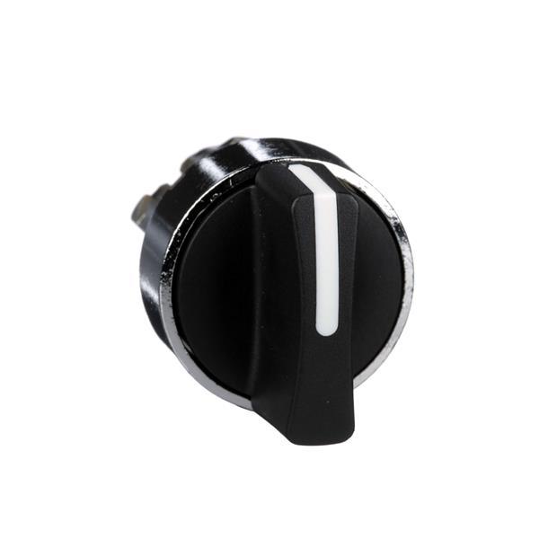 TELEMECANIQUE - Tête pour bouton tournant - 2 positions - Ø22 - noir