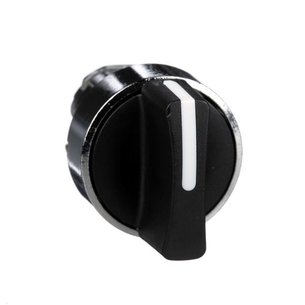 TELEMECANIQUE - Kop voor keuzeschakelaar - 3 standen - Ø22 - zwart - zonder markering